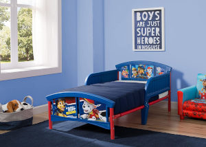 Delta Boys Plastic Toddler Bed