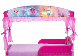 Delta Girls Canopy Toddler Bed