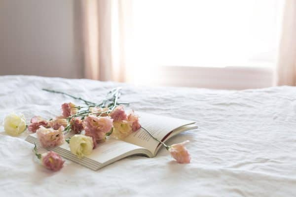 Flowers in Bed