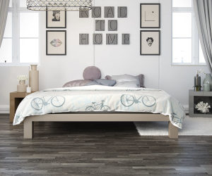 In Style Furnishings Stella Metal Platform Bed Frame