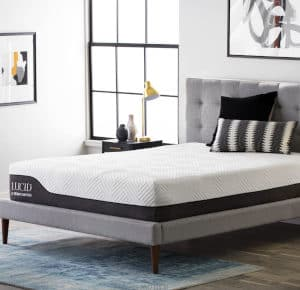 LUCID Queen Hybrid Mattress