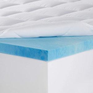 Sleep Innovations Memory Foam Mattress Topper