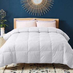 WhatsBedding Down Comforter with Corner Tabs